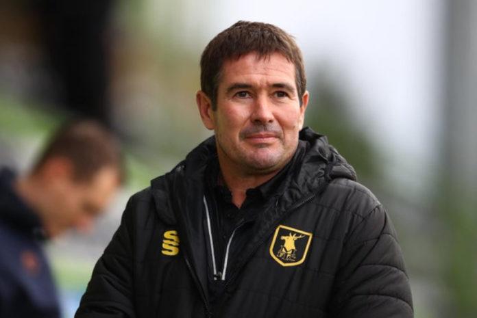 Mansfield boss Nigel Clough / Credit: Mansfield Town